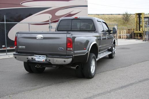 Ford F350 Dually. Ford F350 Dually 4X4 pass side